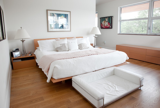 Queen Bed with Trundle Bedroom Modern with Barcelona Dog Bed Bedroom1