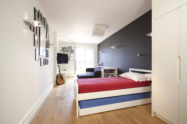 Queen Bed with Trundle Kids Contemporary with Bedroom Ideas for Teen1
