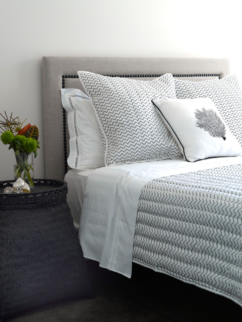 Quilted Bedspreads Bedroom Contemporary with Categorybedroomstylecontemporarylocationsydney