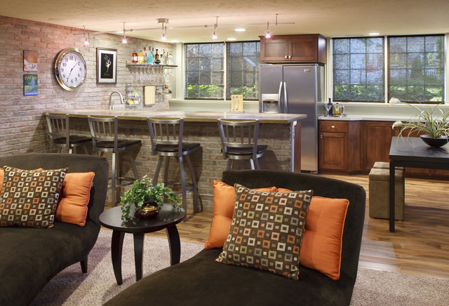 Rattan Bar Stools Kitchen Contemporary with Accent Wall Bar Accessories
