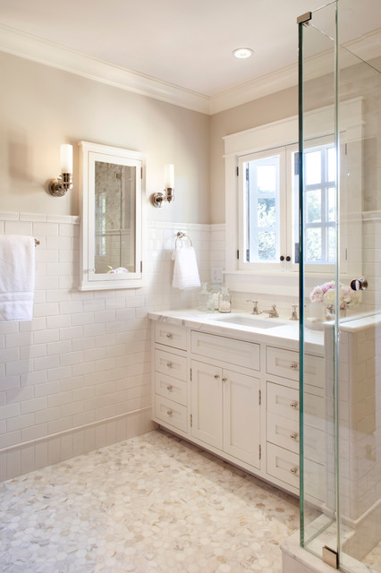 Recessed Medicine Cabinets Bathroom Traditional with Backsplash Bathroom Cabinetry Chair