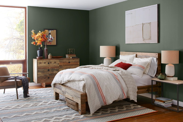 Reclaimed Wood Dresser Bedroom with Categorybedroomlocationnew York