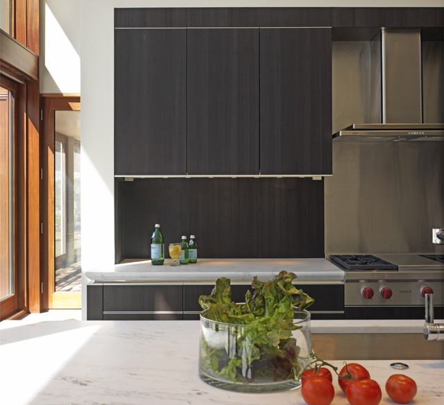 reface cabinets Kitchen Contemporary with great room kitchen island