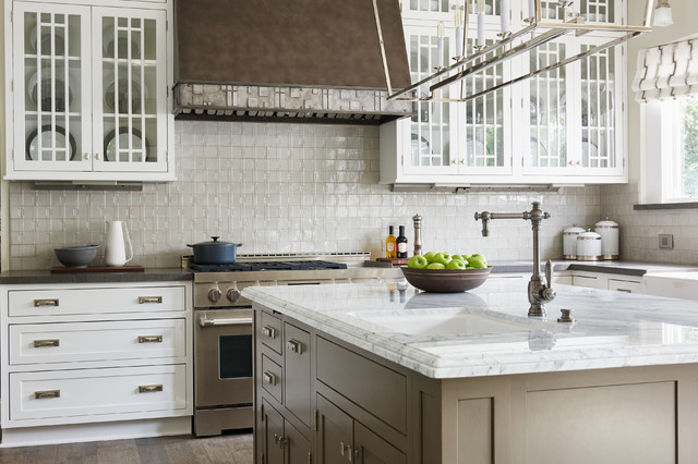 Reface Cabinets Kitchen Transitional with Casual Elegance Neutral Sink