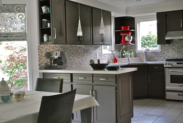 Refacing Cabinets Kitchen Contemporary with Eat in Kitchen Kitchen