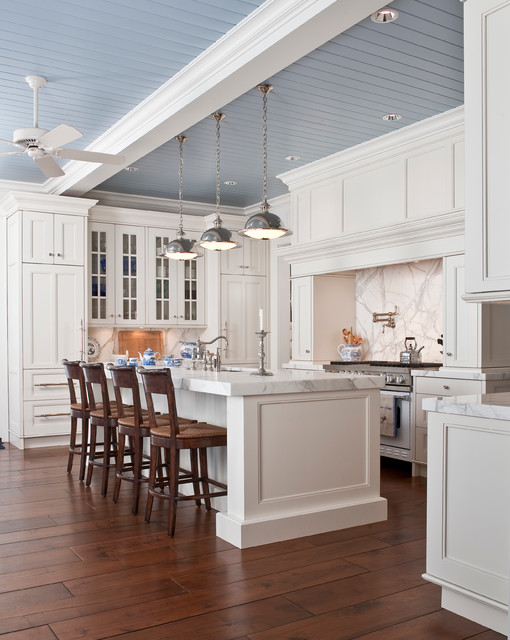 Renovators Supply Kitchen Traditional with Ceiling Fan Counter Stools