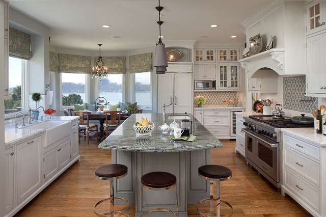 Repainting Kitchen Cabinets Kitchen Traditional with Apron Sink Breakfast Bar
