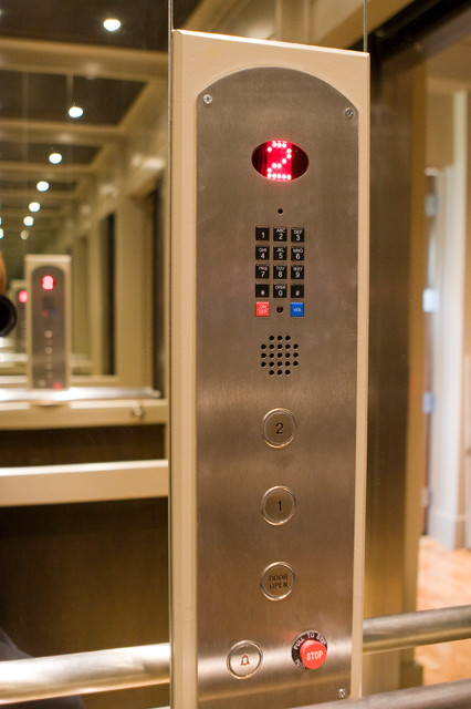 Residential Elevators Spaces Modern with Accessibility Closet Elevator Home1
