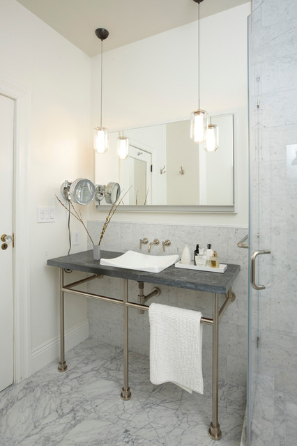 Robern Bathroom Traditional with Makeup Mirror Pendant Lights