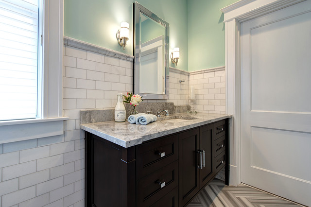 robern medicine cabinets Bathroom Traditional with bathroom mirror console vanity