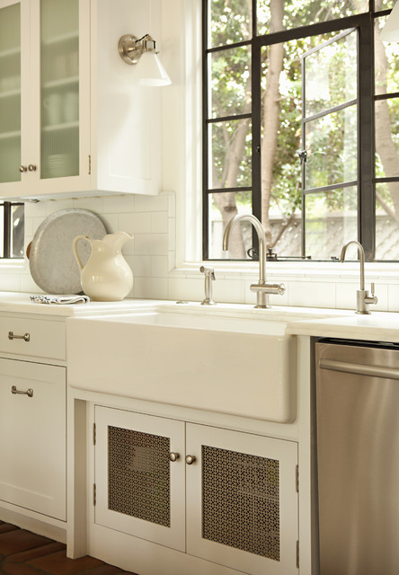 Rohl Sinks Kitchen Traditional with Black Window Farmhouse Sink