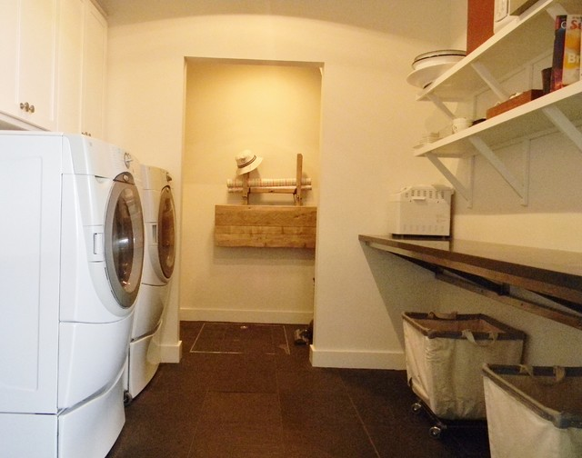 Rolling Laundry Basket Laundry Room Farmhouse with Farm House Laundry Room