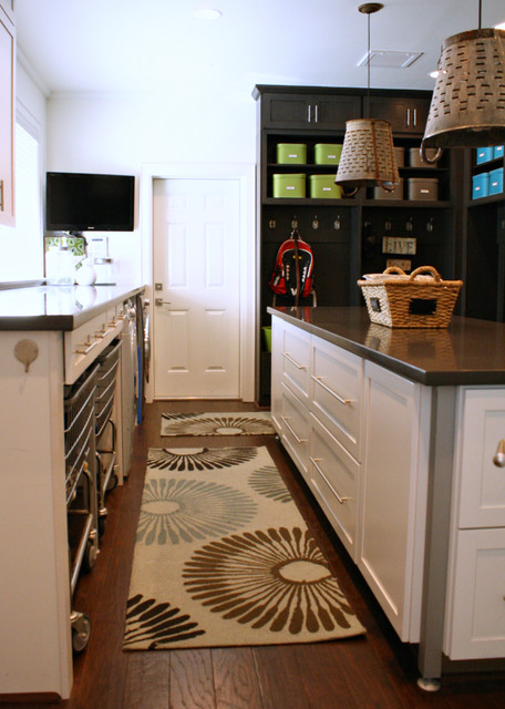 Rolling Laundry Basket Laundry Room Transitional with Industrial Laundry My Houzz