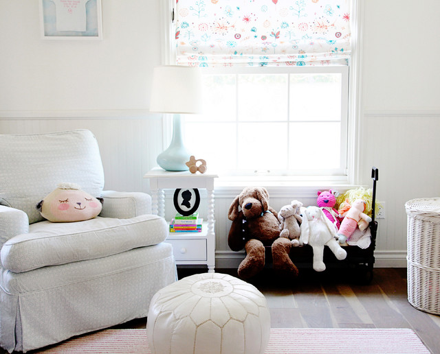 Rolling Laundry Basket Nursery Transitional with Bell Jar Light Fixture