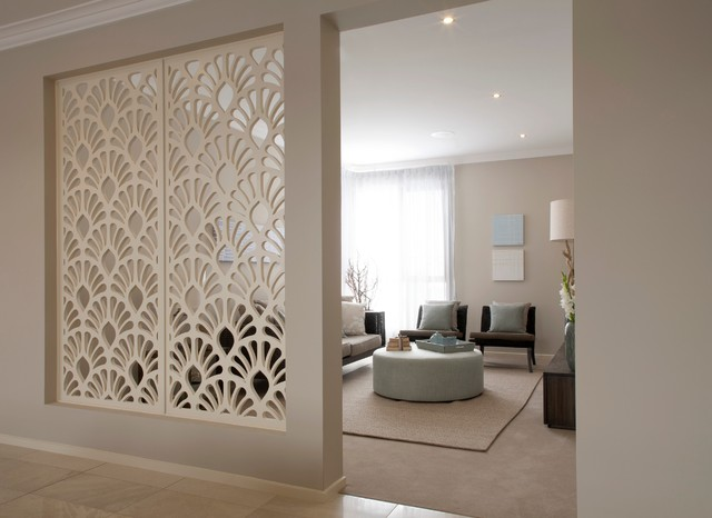 Room Divider Screens Living Room Contemporary with Beige Carpet Beige Rug