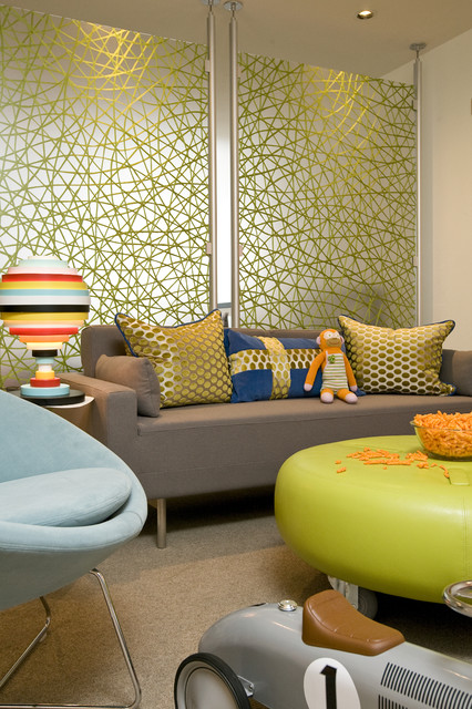 Room Divider Screens Living Room Contemporary with Carpeting Contemporary Interior Designers