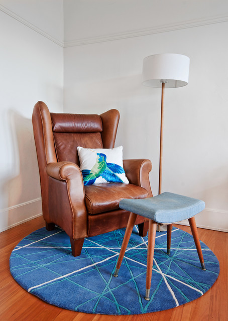 Round Rugs Ikea Bedroom Eclectic with Armchair Bespoke Rug Colourful1