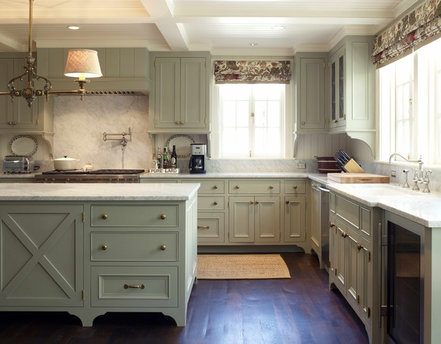 Rta Cabinets Kitchen Traditional with Ceiling Lighting Chandelier Coffered