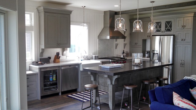 Sandusky Cabinets Kitchen Transitional with Beverage Center Cabinets With