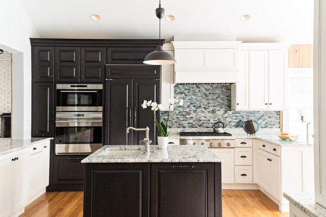 Schaub Hardware Kitchen Traditional with Appliance Garages Combination Finishes