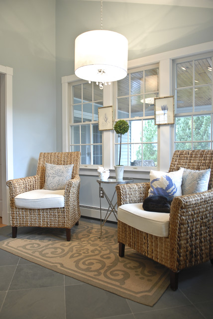 Seagrass Chairs Living Room Beach with Area Rug Artwork Beachy
