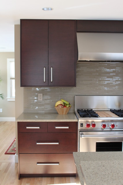 Sealing Grout Kitchen Contemporary with Ceiling Lighting Dark Wood