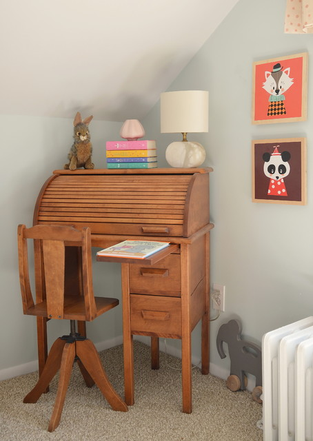 Secretary Desk Ikea Kids Contemporary with Animal Prints Attic Bedroom