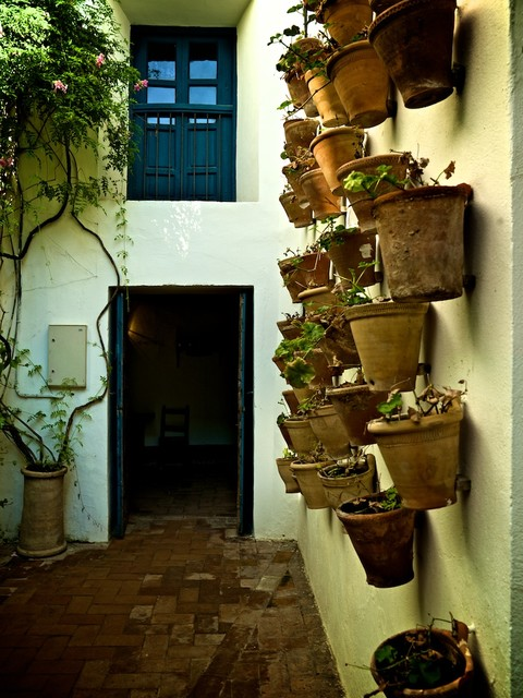 Self Watering Pots Porch Mediterranean with Categoryporchstylemediterraneanlocationother Metro