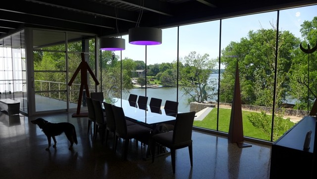 Sesco Lighting Dining Room with Color Changing Deco Led Delray1