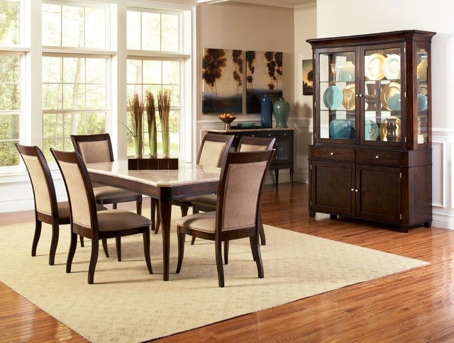 Setee Spaces Modern with Dining Chairs Dining Table