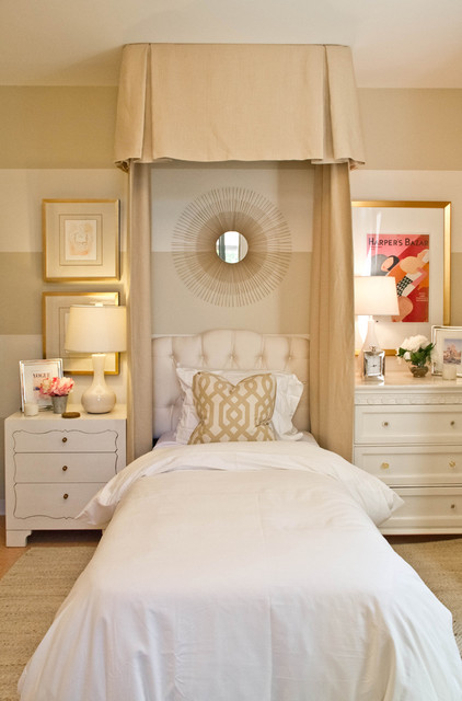 Shabby Sheek Bedroom Traditional with Area Rug Bed Pillows