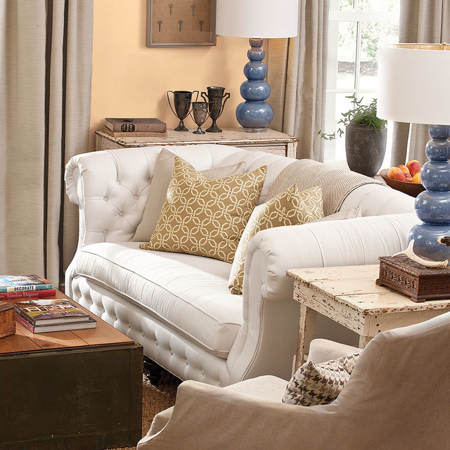 shabby sheek Living Room Traditional with CategoryLiving RoomStyleTraditionalLocationOther Metro
