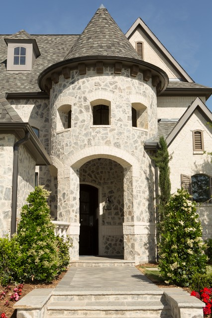 Shaddock Homes Entry Traditional with Arched Opening Arched Windows