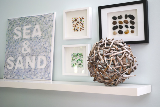 Shadowbox Frames Spaces Beach with Beach Home Diy Driftwood
