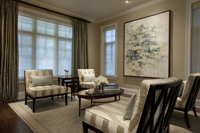 Shaker Beige Living Room Traditional with Area Rug Baseboards Ceiling