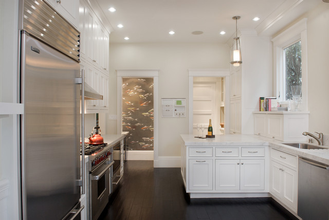 Shape Sorter Kitchen Contemporary with Baseboards Ceiling Lighting Crown