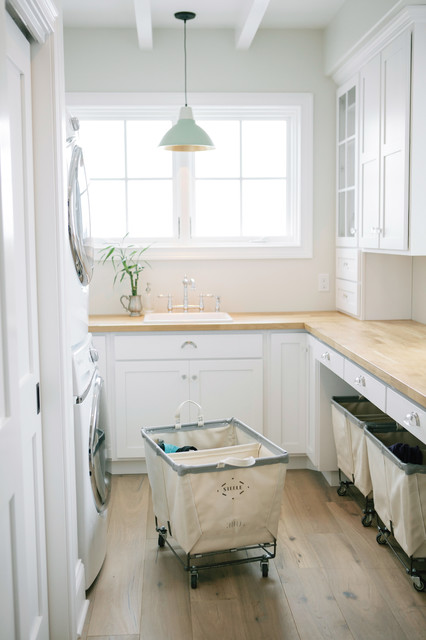 Shape Sorter Laundry Room Traditional with Bridge Faucet Laundry Laundry