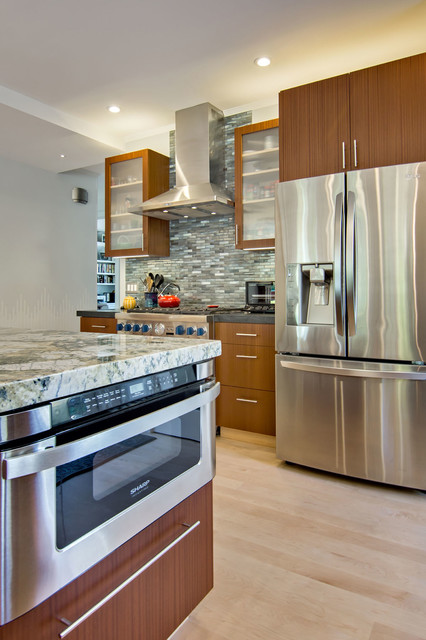 Sharp Microwave Drawer Kitchen Contemporary with Categorykitchenstylecontemporarylocationsan Francisco