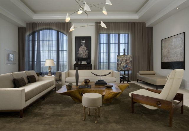 Sheer Drapes Living Room Modern with Ceiling Lighting Curtains Drapes