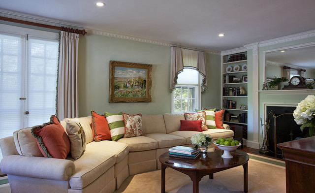 Sheer Window Panels Family Room Eclectic with Built in Bookcase Built in Bookshelves