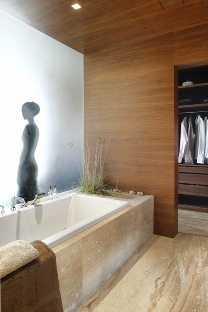 Shelf Genie Bathroom Contemporary with Closet Frosted Glass Marble