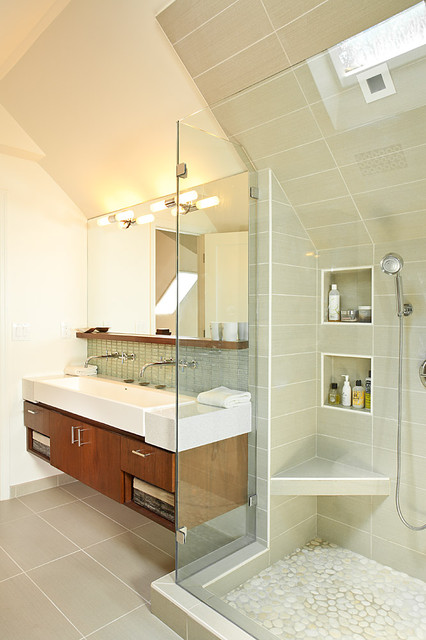 shelfs Bathroom Contemporary with atlanta bath bathroom mirror