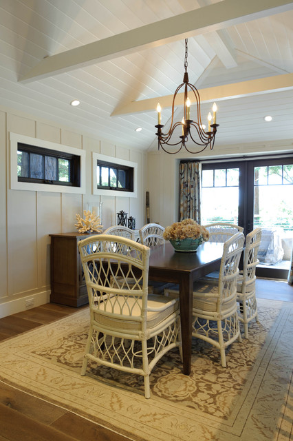 Sherwin Williams Kilim Beige Dining Room Beach with Area Rug Board And2
