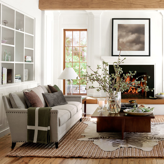 Sherwin Williams Kilim Beige Living Room with Categoryliving Roomlocationsan Francisco