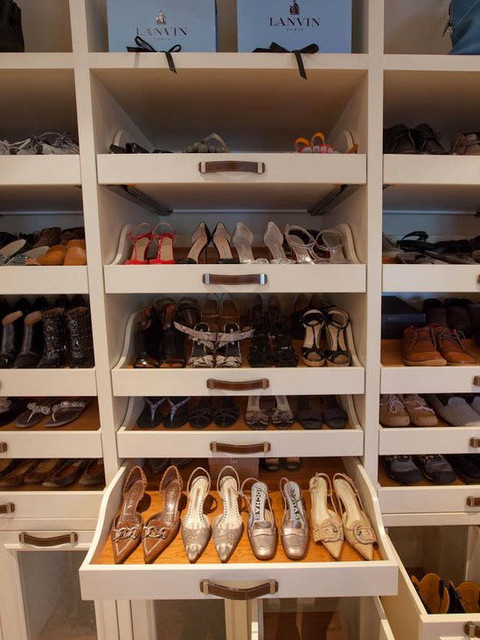 Shoe Organizer for Closet Closet Contemporary with Built in Shelving Unit