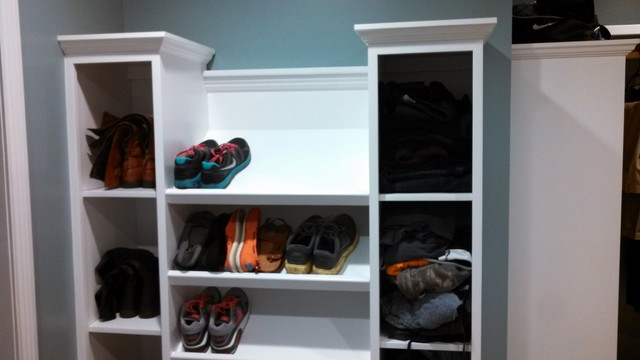 Shoe Organizer for Closet Spaces with Categoryspaceslocationother Metro