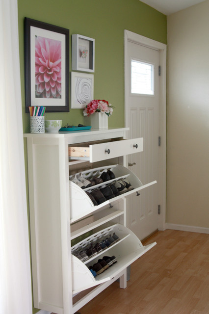 Shoe Rack Ikea Entry Eclectic with Entry Way Professional Organizing4
