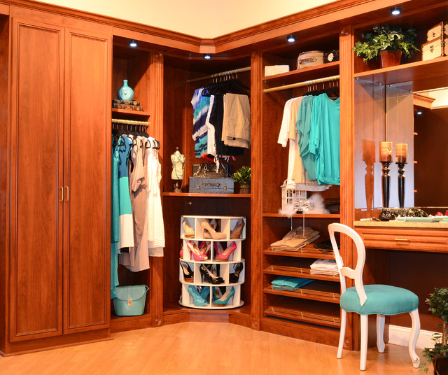 Shoe Racks for Closets Closet Traditional with Beige Wall Blue Side