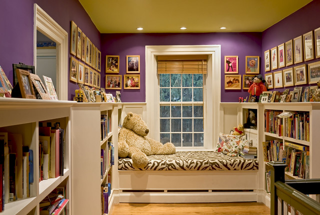 Short Bookcase Hall Traditional with Bold Colors Bookcase Bookshelves