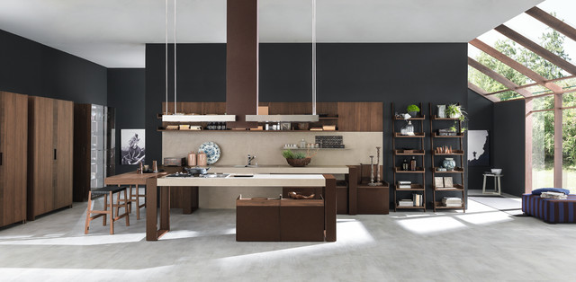 short bookcase Kitchen with CategoryKitchenLocationNew York